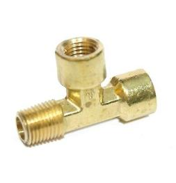 1/4 Npt Male Female Street Tee T Forged Brass Pipe Fitting F