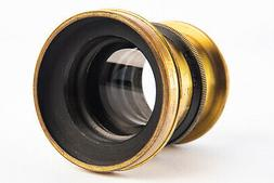 Antique The Elliot's Extra Rapid 7 Inch f/8 Brass Lens VERY