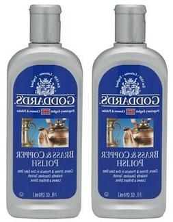 Brass And Copper Polish Cleaner Cleans & Removes Tarnish God