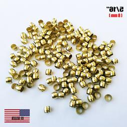 """Brass Fittings: Brass Compression Sleeve, Tube OD 5/16"""", QTY"""