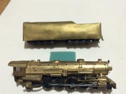 Brass HO engine   4-8-2 M-1 Mountain Bowser