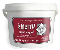 Wright's Copper and Brass Cream Cleaner - 4 Lbs - Gently Cle