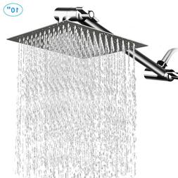 """HotelSpa Giant 10"""" Stainless Steel Rainfall Square Showerhea"""