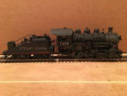 HO United Pacific Fast Mail Brass Union Pacific 0-6-0 Steam