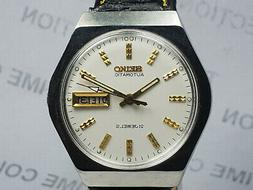 Vintage Seiko 5 Day Date 6309A Mechanical Automatic Movement