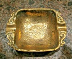 Vintage Brass Ashtray 1950-60's Classical Dayagi made in Isr